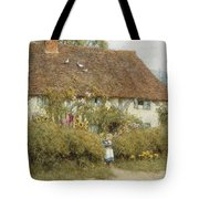 Cottage At West Horsley Surrey Tote Bag