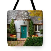 Cottage In The Park Tote Bag