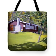 Cottage In Ludow Vermont Tote Bag