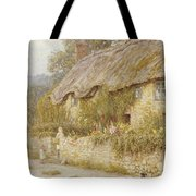 Cottage Near Wells Somerset Tote Bag by Helen Allingham