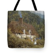 Cottage Near Witley Surrey Tote Bag