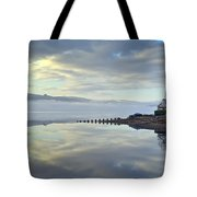 Cottage On The Shore Tote Bag