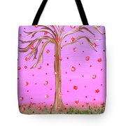 Cotton Candy Sky Wishing Tree Tote Bag