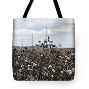 Cotton Ready For Harvest In Alabama Tote Bag