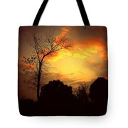 Cottonwood Sunset Tote Bag