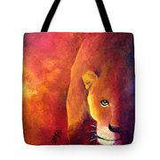 Cougar - Out Of The Shadows Tote Bag