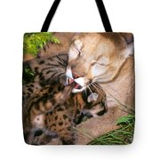 Cougar Mom Cleans Youngster Tote Bag