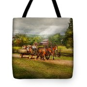 Country - Horse - Life's Pleasures Tote Bag