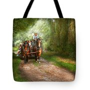Country - Horse - The Hay Ride  Tote Bag