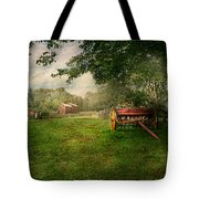 Country - The Crops Almost Ready  Tote Bag