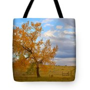 Country Autumn Landscape Tote Bag by James BO  Insogna