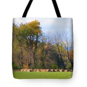Country Bails Tote Bag