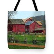 Country Barns Tote Bag