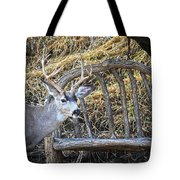 Country Buck Tote Bag