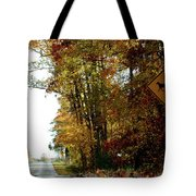Country Buggie Sign Tote Bag
