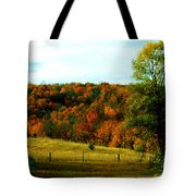Country Camping Tote Bag