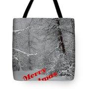 Country Christmas 1 Tote Bag