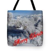 Country Christmas 2 Tote Bag