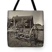 Country Classic Monochrome Tote Bag
