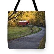 Country Lane - D007732 Tote Bag