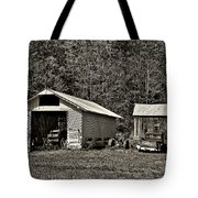 Country Life Sepia Tote Bag