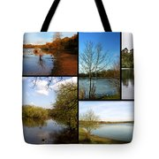 Country Parks Collage Tote Bag