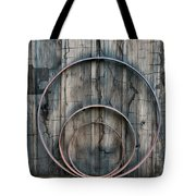Country Rings Tote Bag by Susan Candelario