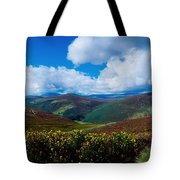 Country Road, Near Luggala Mountain, Co Tote Bag
