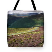 Country Road Passing Through A Tote Bag