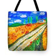 Country Tracks Tote Bag