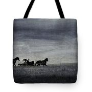 Country Wagon Tote Bag by Perry Webster