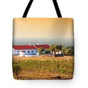 Countryside House Tote Bag by Carlos Caetano