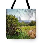 Countryside Wagon Tote Bag