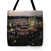 County Fair, Yakima Valley, Rides Tote Bag