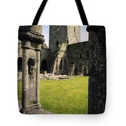 County Kilkenny, Ireland Jerpoint Abbey Tote Bag