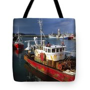 County Waterford, Ireland Fishing Boats Tote Bag