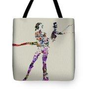 Couple Dancing Tote Bag by Naxart Studio