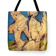 Couple In Landscape Tote Bag
