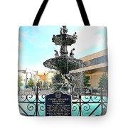 Court Square Fountain Tote Bag