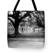 Courthouse And Town Square- Woodville Mississippi Tote Bag