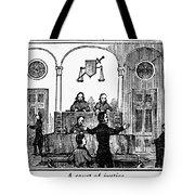 Courtroom, 1842 Tote Bag
