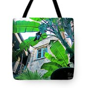 Courtyard Feelings Cafe Nola Tote Bag