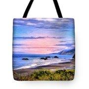 Cove On The Lost Coast Tote Bag