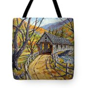 Covered Bridge 04 Tote Bag