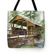 Covered Bridge At Knoebels  Tote Bag