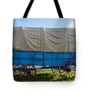 Covered Wagon Tote Bag
