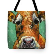 Cow 484 Tote Bag
