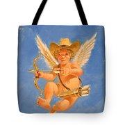 Cow Kid Cupid Tote Bag