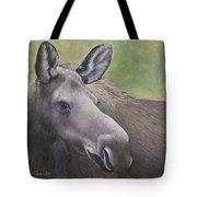 Cow Moose Tote Bag