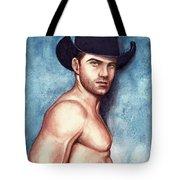 Cowboy Blue Tote Bag